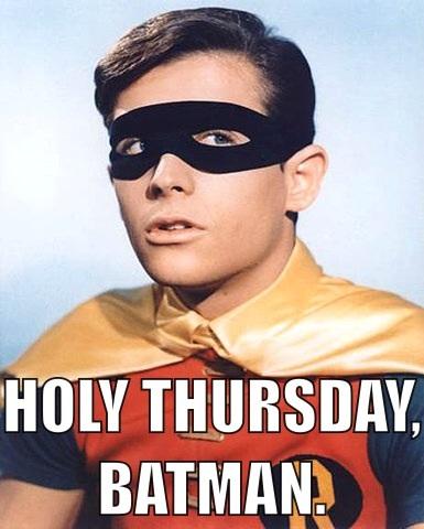Oh, Robin...