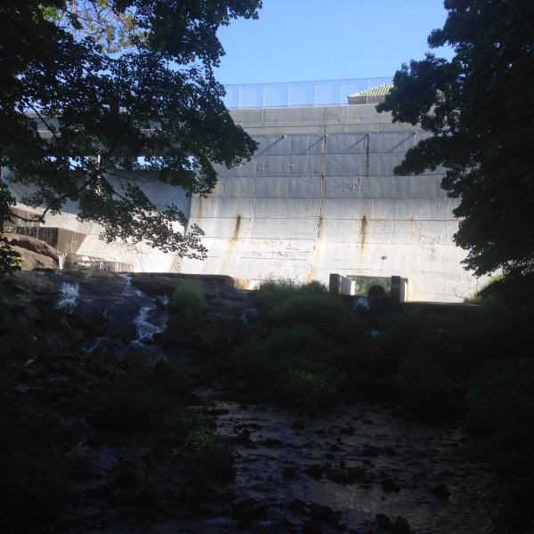 Dam at Splitrock Reservoir